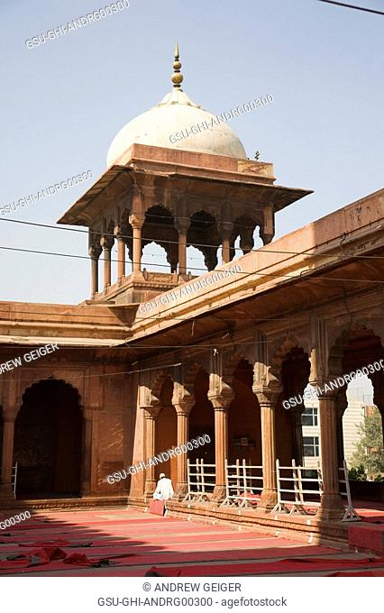 Detail of Jama Masjid, New Delhi, India