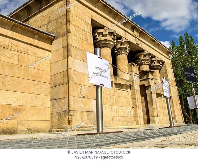 Egyptian Temple of Debod, Madrid, Spain