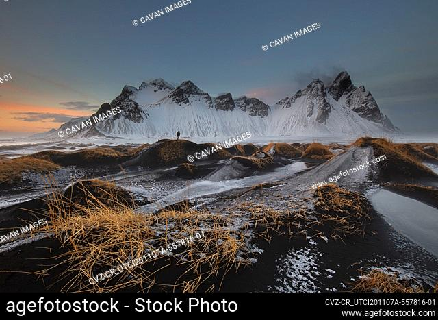 Stokksnes and Vestrahorn mountains in Iceland