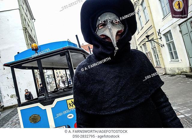 TALLINN, ESTONIA Tallinn Legends underground tours offered near City Hall Square