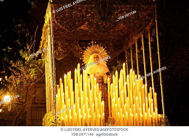Holy Week procession in Seville, Spain