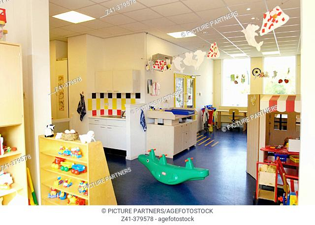 Empty day care center