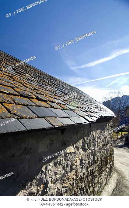 Tramacastilla de Tena, is a small village in Tena Valley, Huesca pyrenees, Spain