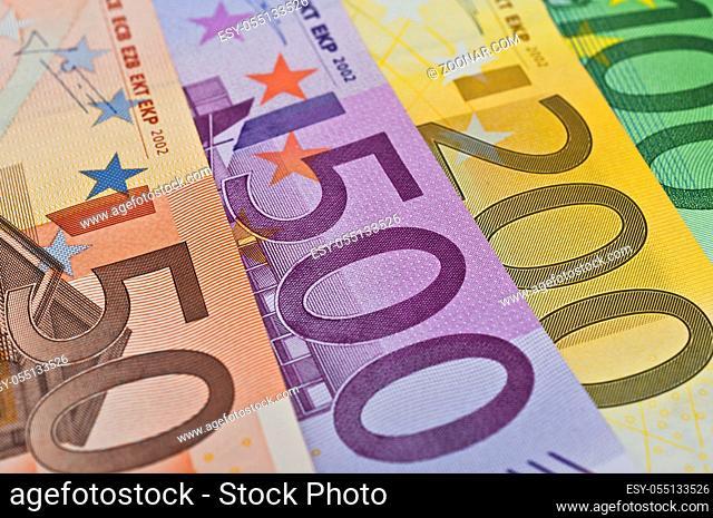 Finanzen Eurogeld diverse Eurogeldscheine