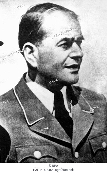 Architect and politician Albert Speer in a contemporary photograph. - /Germany