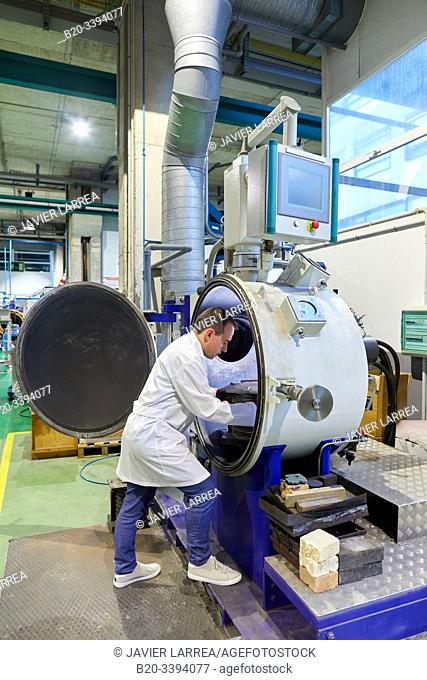 Melting and vacuum casting furnace, Consarc vacuum oven, Foundry industry, Industry Unit, Technology Centre, Tecnalia Research & Innovation, Donostia