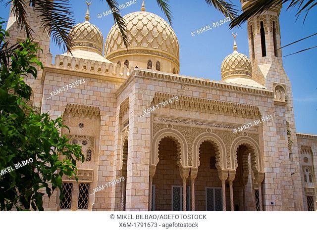 Mosque  Dubai city  Dubai  United Arab Emirates