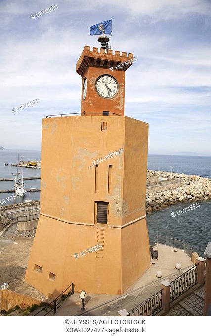 Torre degli Appiani, Rio Marina, Elba island, Tuscany, Italy, Europe
