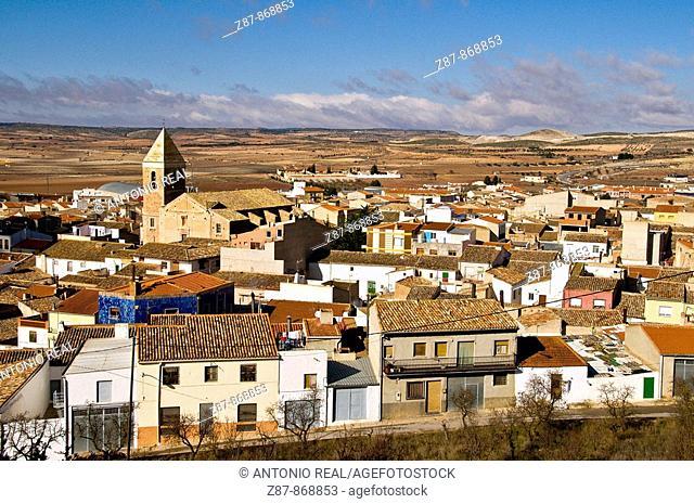 Montealegre del Castillo. Albacete province, Castilla-La Mancha, Spain