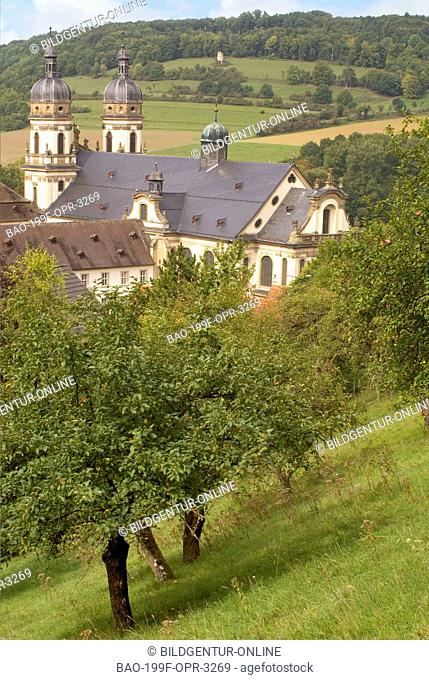 Image of the Schöntal Monastery in the Jagst Valley at the German state of Baden-Württemberg