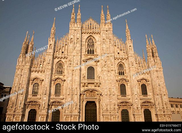 Duomo Cathedral Church in Milan