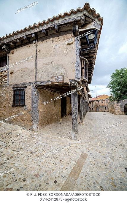 Calatañazor village. Soria, Castle and Leon, Spain