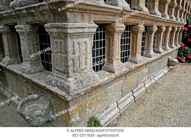 Pantheon, Notre Dame de Croas-Batz, Roscoff, Brittany, France