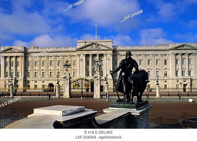Europe, Great Britain, England, London, Buckingham Palace