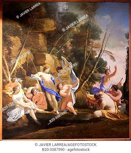 """""""""""""""Diane et Actéon"""""""", 1630, Michel Dorigny, Petit Palais Musée des Beaux Arts de la Ville de Paris, France, Europe"""