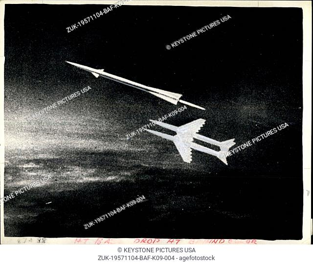 Nov. 04, 1957 - Russians reveal secrets of Sputnick launching. Soviet forges ahead with satellite programme.: Immediately after announcement of the launching of...