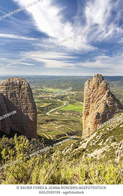 Mallos de Riglos, Riglos, La Hoya, Huesca, Spain