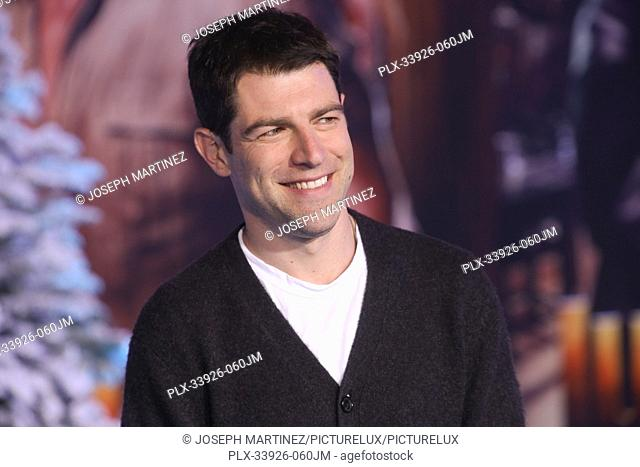 """Max Greenfield at Sony Pictures' """"""""Jumanji: The Next Level"""""""" World Premiere held at the TCL Chinese Theater in Hollywood, CA, December 9, 2019"""