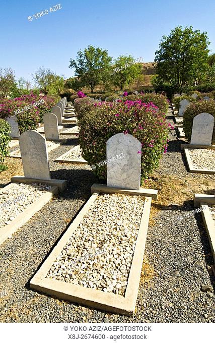 Italian war cemetery, Keren, Eritrea