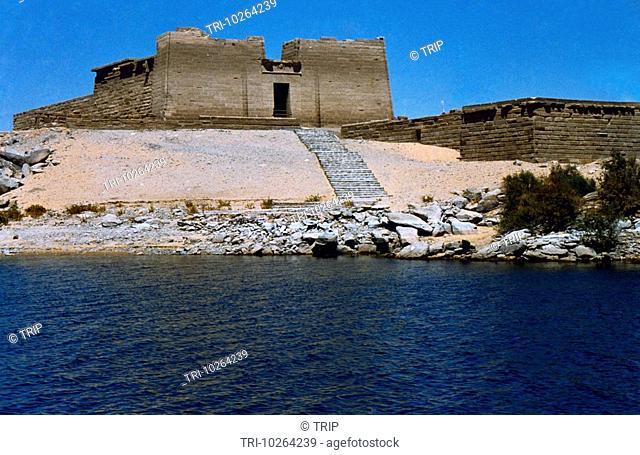 Aswan Egypt Kalabsha Temple On Lake Nasser