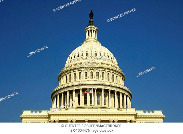 Cupola of the Capitol, Washington, D.C., USA