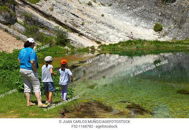 River Abion, La Fuentona Natural Monument, Soria province, Castilla-Leon, Spain
