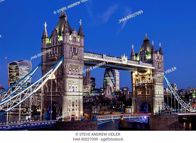 England, London, Tower Bridge
