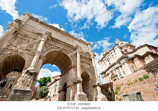 Ruin Roman Forum