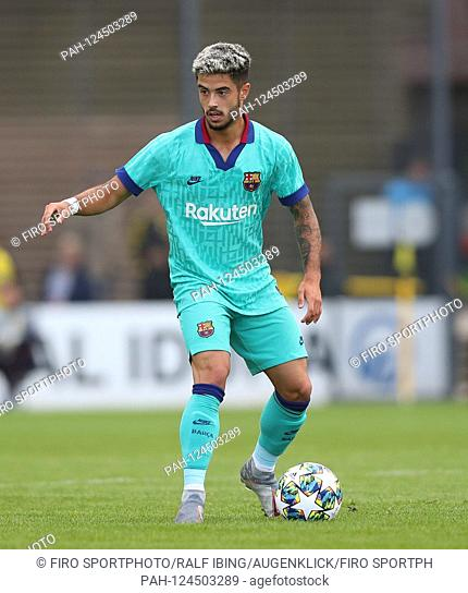 firo: 17.09.2019, Football, UEFA Youth League, Season 2019/2020, BVB, Borussia Dortmund - FC Barcelona, Barca Alvaro SANZ, Barcelona