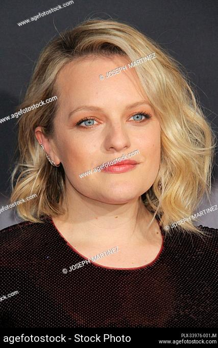 "Elisabeth Moss at """"The Invisible Man"""" Premiere held at the TCL Chinese Theatre in Los Angeles, CA, February 24, 2020. Photo Credit: Joseph Martinez /..."