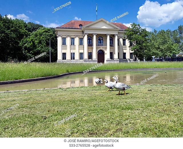 Prinz Carl Palais in Munich. Germany. Europe