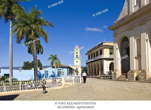 Cuba, Trinidad, plaza mayor
