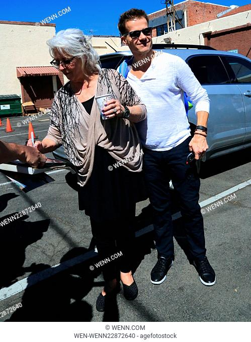 Celebrities attend 'Dancing With The Stars' rehearsals Featuring: Paula Deen, Louis Van Amstel Where: Los Angeles, California