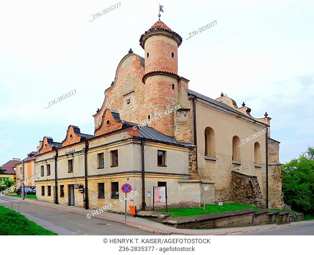 Lesko Synagogue - built in the first half of the 17th century, Bieszczady, Poland