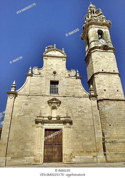 San Martín de Molacillos church, Molacillos, Zamora, Spain