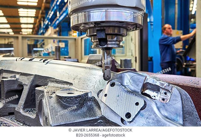 CNC milling machine. Machine Tools Company. Gipuzkoa. Basque Country. Spain. Europe