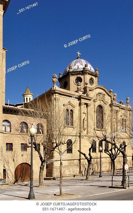 Santa Maria Cathedral, Solsona, Solsonès, Lleida province, Catalonia, Spain