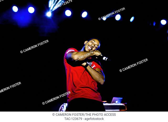 Ludacris performs at the Neon Desert Music Festival on May 29, 2016 in El Paso, Texas