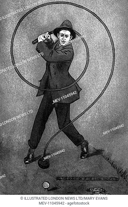 Caricature of Denys Finch-Hatton (1887-1931). Denys Finch-Hatton, was a big game hunter and was immortalised in the autobiographical novel by Karen Blixen (Isak...