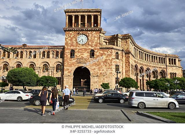 Armenie, Erevan, Place de la Republique (Republic Square) / Armenia, Yerevan, Republic Square
