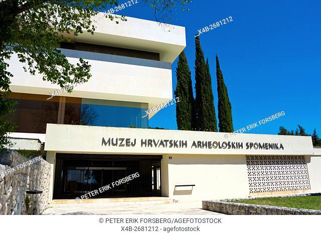 Museum of Croatian Archeological Monuments, Meje district, Split, Dalmatia, Croatia