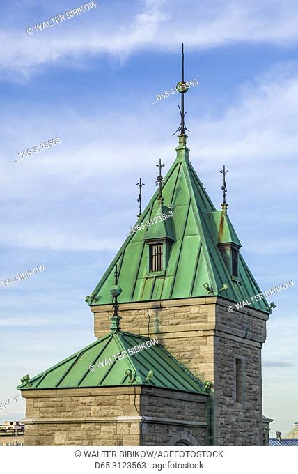 Canada, Quebec, Quebec City, Porte Kent, city gate