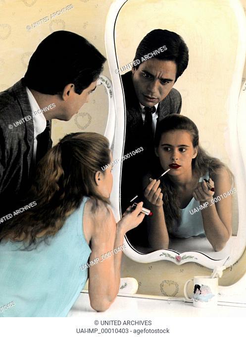 Hände weg von meiner Tochter, (SHE'S OUT OF CONTROL) USA 1989, Regie: Stan Dragoti, TONY DANZA, AMI DOLENZ, Stichwort: Vater, Tochter, Make-Up, Schminken