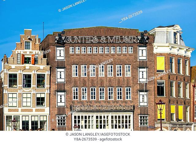Gunters en Meuser building in the Jordaan, Amsterdam, North Holland, Netherlands