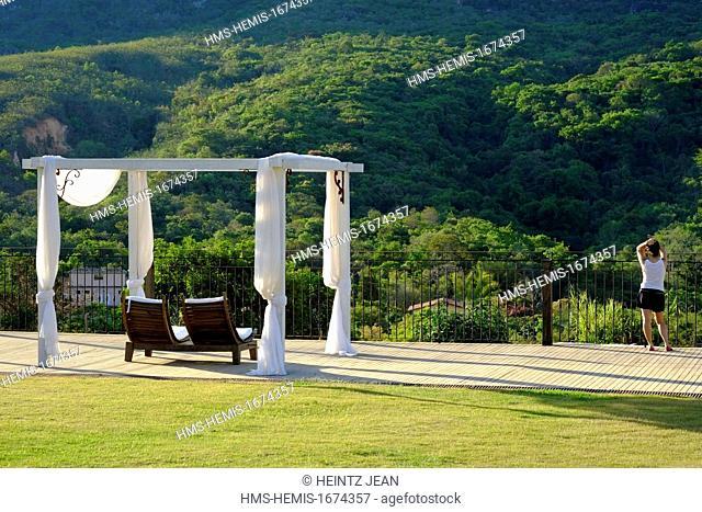 Brazil, Minas Gerais state, Tiradentes, stay at the pousada Brisa da Serra