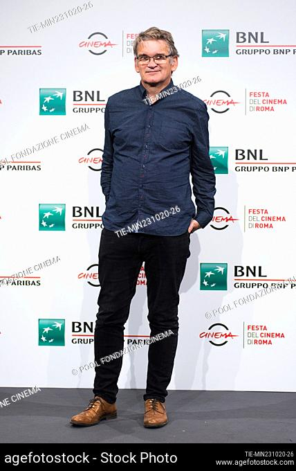 The director Jerry Rothwell during the photocall of film 'The Reason I Jump' at the 15th Rome Film Festival, Rome, ITALY-23-10-2020