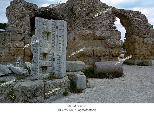 Baths of Antoninus Pius (19 September 86 - 7 March 161) in Carthage, 2nd century