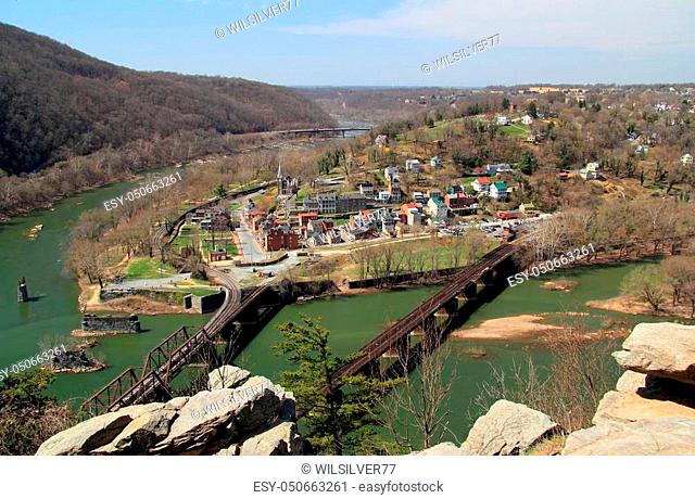 Maryland Heights offers one of the impressive views of historic Harpers Ferry, which was involved in numerous Civil War engagements and was the site of a failed...