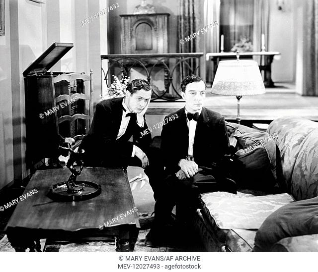Robert Montgomery & Buster Keaton Characters: Larry, Elmer Butts Film: Free And Easy (1930) Director: Edward Sedgwick 01 May 1930