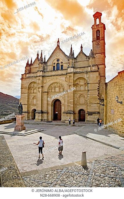Royal collegiate church of Santa María la Mayor. Antequera. Málaga province, Spain